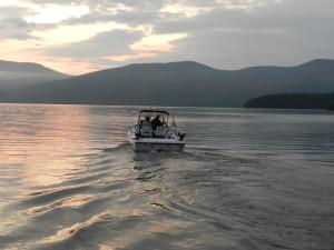 Fishing at Twin Bay Village.
