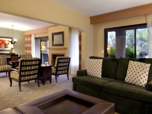 Specialty suite dining and living room at Hilton Tucson El Conquistador Golf & Tennis Resort