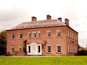 Exterior view of Enniscoe House.