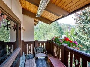 Balcony at Willows & Riva Ridge South.