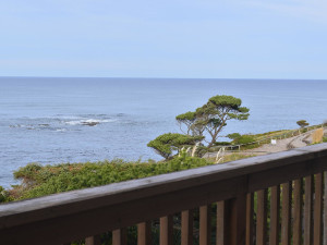 Balcony view at Surfrider Resort.