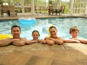 Family Time at RiverStone Resort