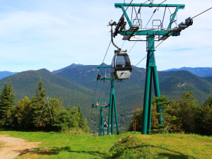 Ski lift at The Mountain Club.