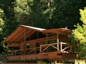 Cabin Exterior at Marble Mountain Guest Ranch