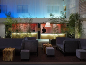 Lobby view at The Domain Hotel.