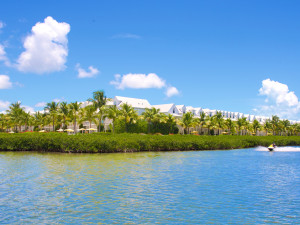 Island view of Parrot Key Resort.