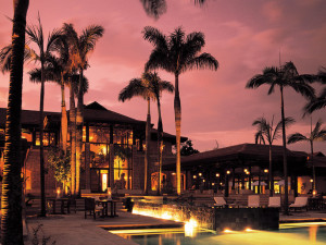 Exterior view of Zimbali Lodge.