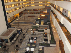Interior view of Radisson Hotel & Conference Center Fresno.