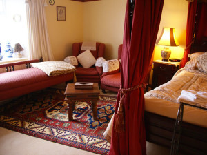 Guest room at Mill of Eyrland.