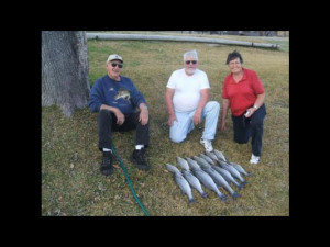 Fishing at Valentine Lakeside Resort.