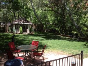 Gazebo at Old Creek Resort.
