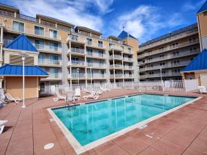 Rental pool at Shoreline Properties.