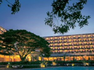 Exterior view of The Oberoi.