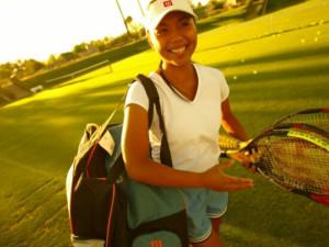 Tennis Courts at Marriott Desert Springs Resort