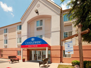 Exterior view of Candlewood Suites Dallas/Fort Worth.