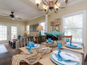Rental dining room at Perdido Key Resort Management.