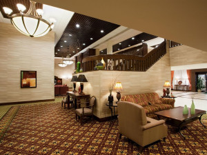 Guest Lobby at Holiday Inn Washington-Dulles Intl Airport