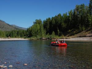 Water activities at Great Northern Resort.