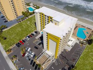 Exterior View of Hyatt Place Daytona Beach – Oceanfront