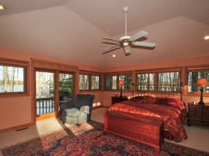 Rental bedroom at Deep Creek Vacations