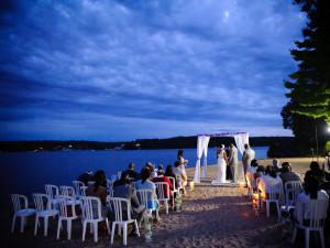 Outdoor wedding at Tan-Tar-A Resort.
