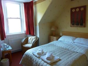 Guest room at Rowanbrae B&B.