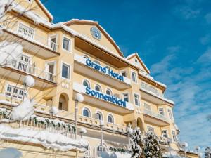 Exterior view of Grand Hotel Sonnenbichl.