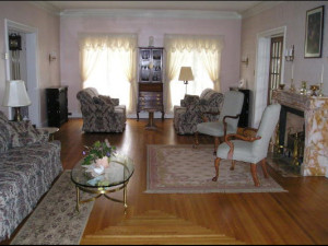 Interior view of Rileys Bed & Breakfast.