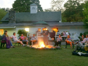 Campfire Activities at Glen Falls House