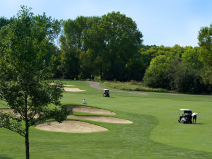 Golf course at Holiday Inn Club Vacations at Lake Geneva Resort.