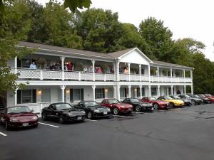 Exterior view of Cedar Crest Inn.