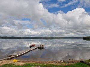 The Lake at Okimot Lodge
