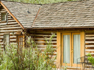 Historic McGill cabin at 320 Guest Ranch.
