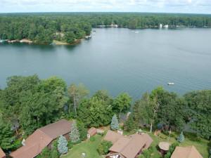 Lake view at Sill's Lakeshore Resort.