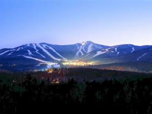 Mountain view at The Mountain Inn.
