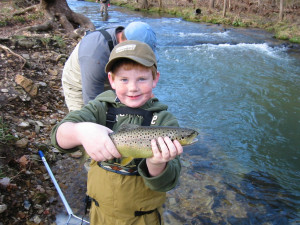Fishing fun at The White River Inn.