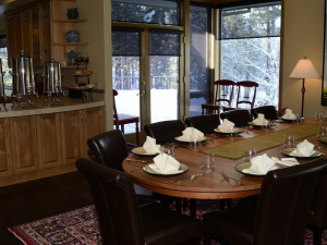 Meeting room at Black Butte Ranch.