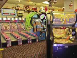 Video arcade at Bavarian Inn of Frankenmuth.