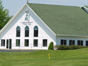 Exterior view of Manistee National Golf & Resort.