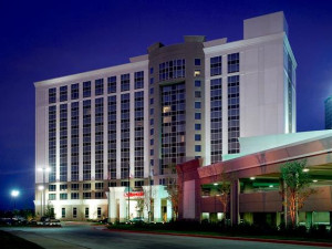 Exterior view of Dallas Marriott Las Colinas.