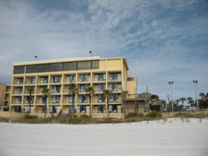 Exterior View of Paradise Palms Inn