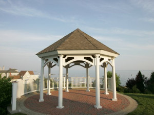 Gazebo at Water's Edge Resort.