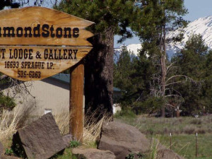 DiamondStone B&B decorated with western and wildlife fine art.