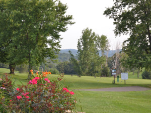 View from Lenape Heights Golf Resort.