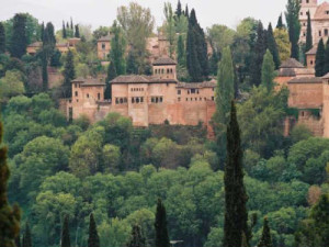 Exterior view of Alhambra Vistas Vacation Rentals.