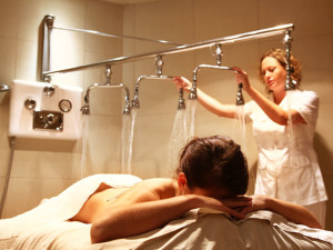 Spa treatment at One Ocean Resort & Spa.