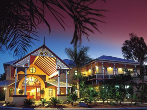 Exterior view of Rihga Colonial Club Resort Cairns.
