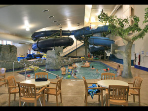 Waterpark at Rapid River Lodge & Waterpark.