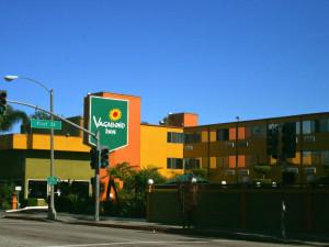 Exterior view of Vagabond Inn Long Beach.