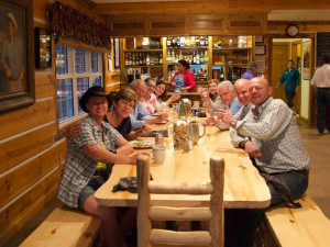 Dining at Colorado Cattle Company Ranch.